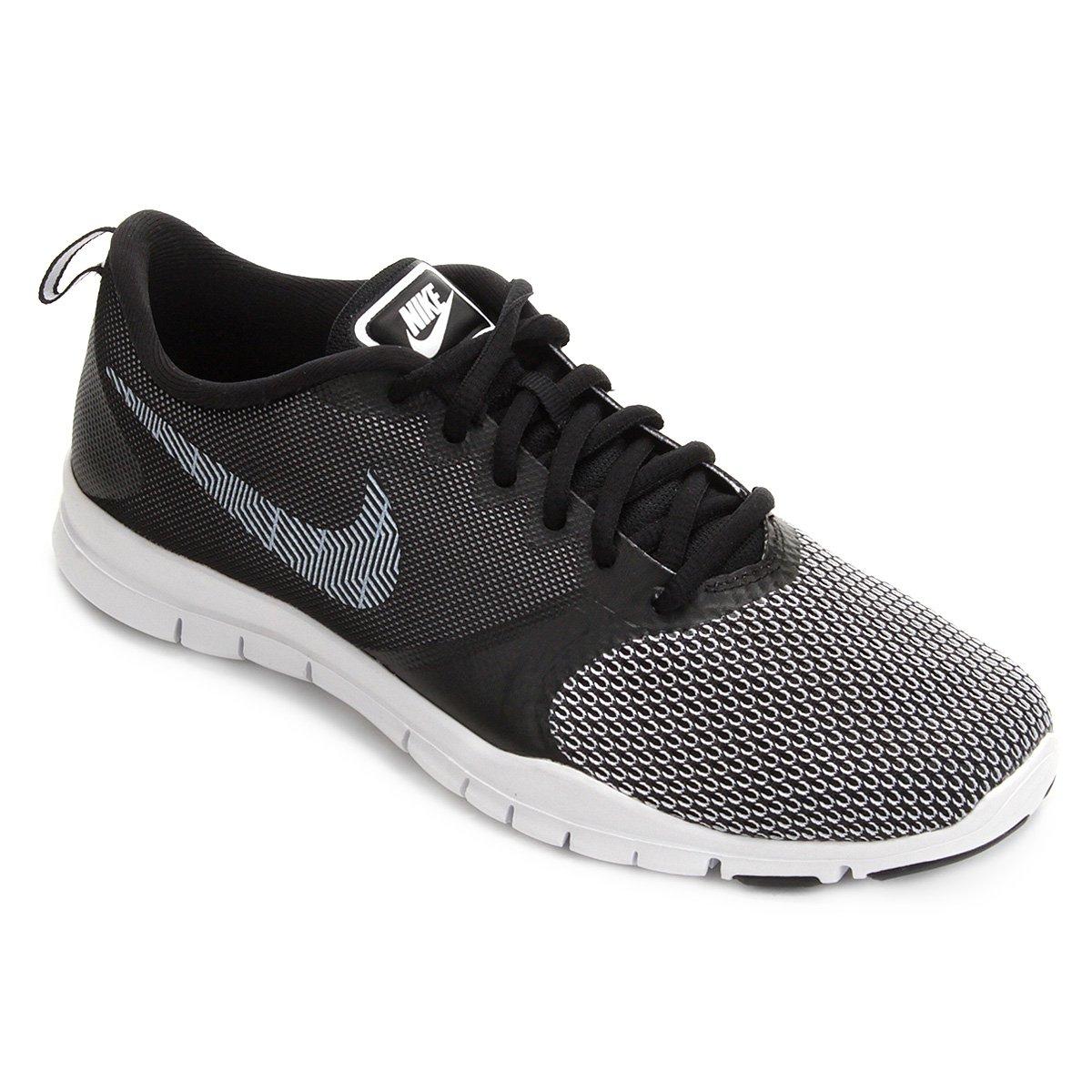 Tênis Nike Flex Essential Tr Pt Feminino - Preto e Branco - Compre ... 8c6ef48709784