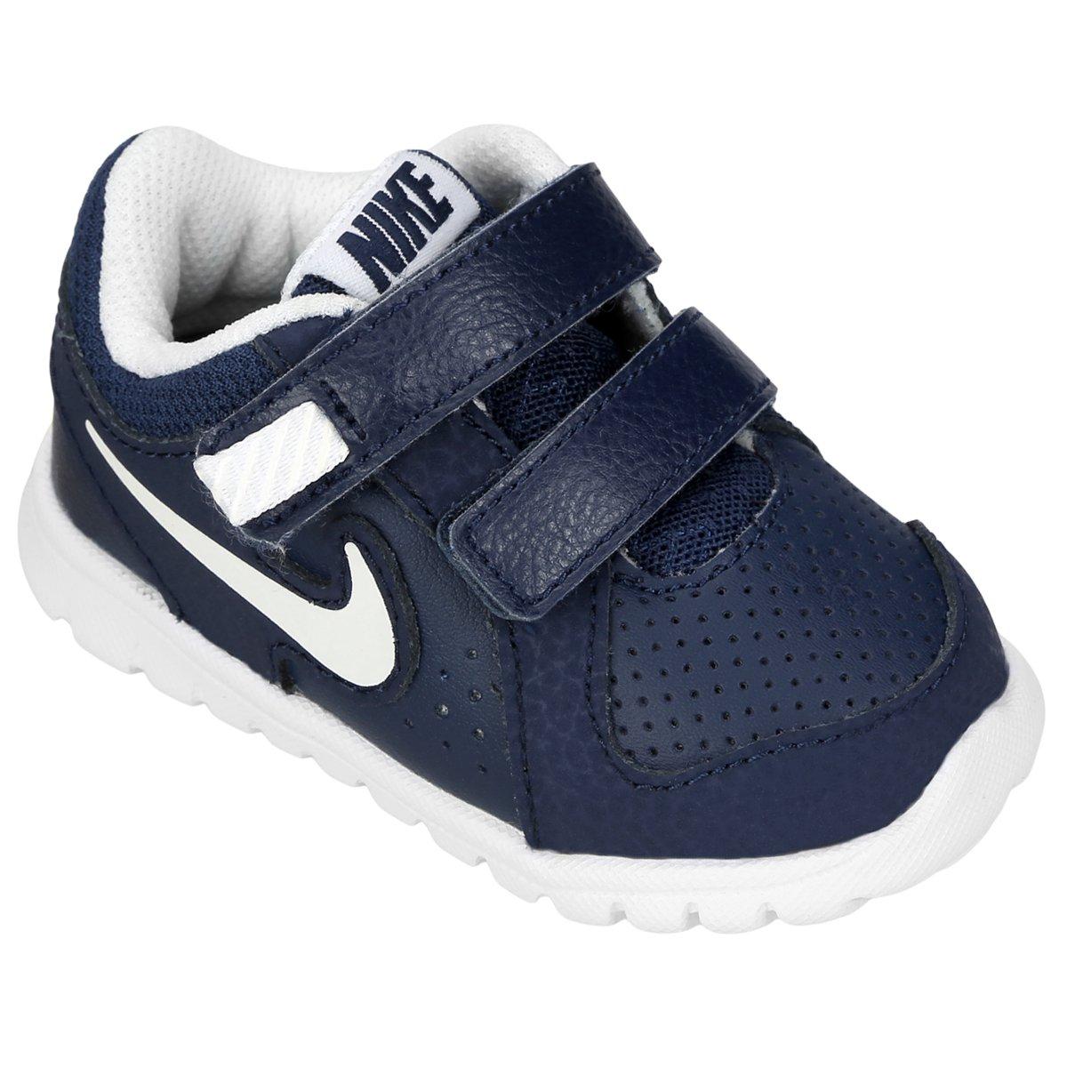 dc3fbcd7674 Tênis Nike Flex Experience Ltr Infantil - Azul e Branco - Compre Agora