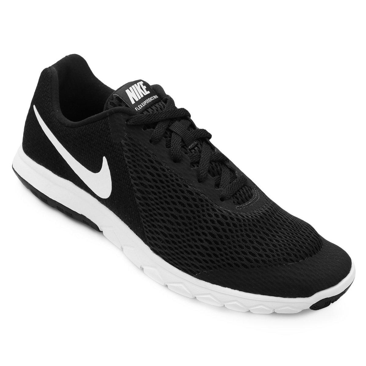 a37f141a85f Tênis Nike Flex Experience Rn 6 Feminino - Preto e Branco - Compre Agora