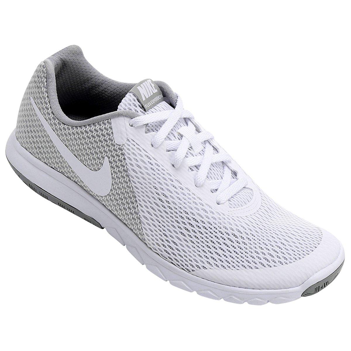 680f1455afc1e Tênis Nike Flex Experience Rn 6 Feminino - Branco e Cinza - Compre Agora