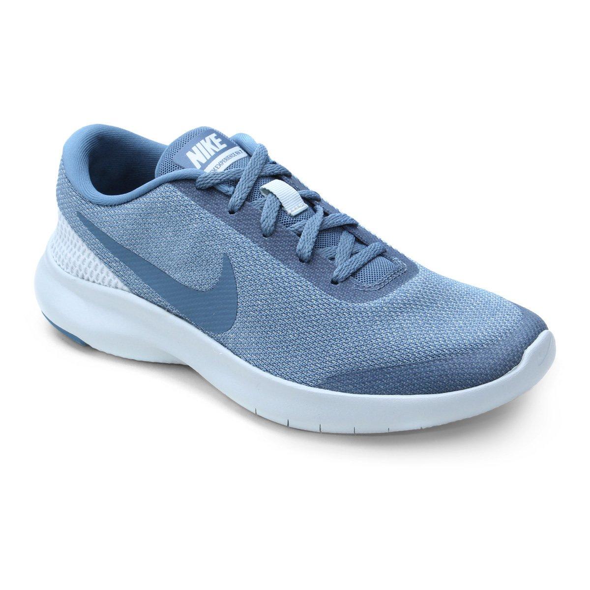 428990b6465 Tênis Nike Flex Experience RN 7 Feminino - Azul e Azul claro - Compre Agora