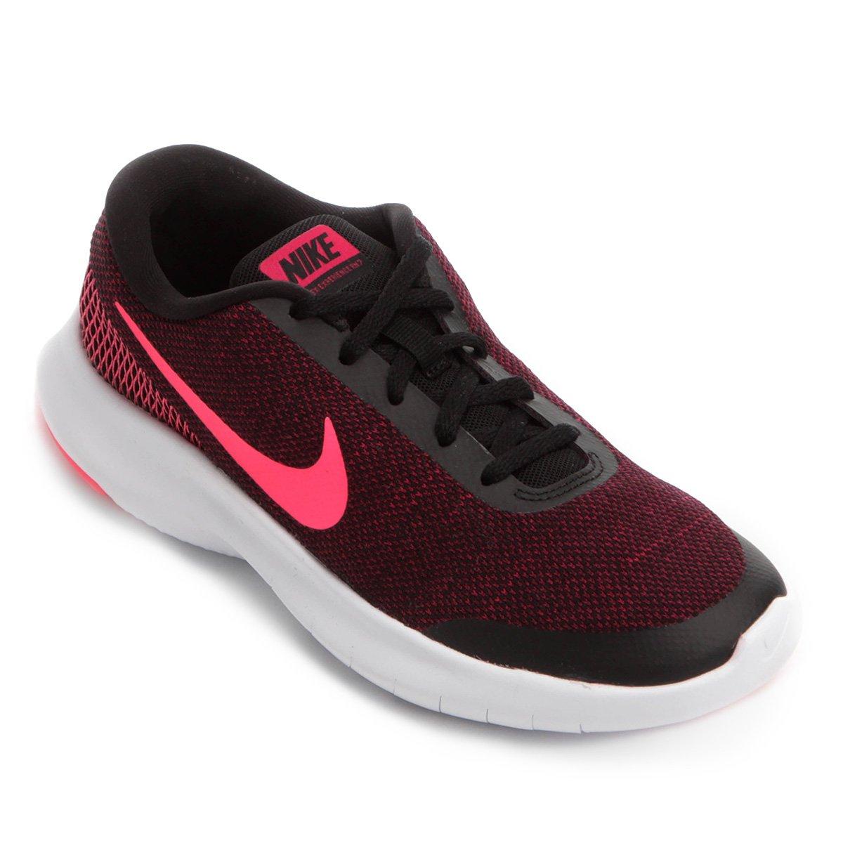 593210130a Tênis Nike Flex Experience RN 7 Feminino - Preto e Rosa - Compre ...