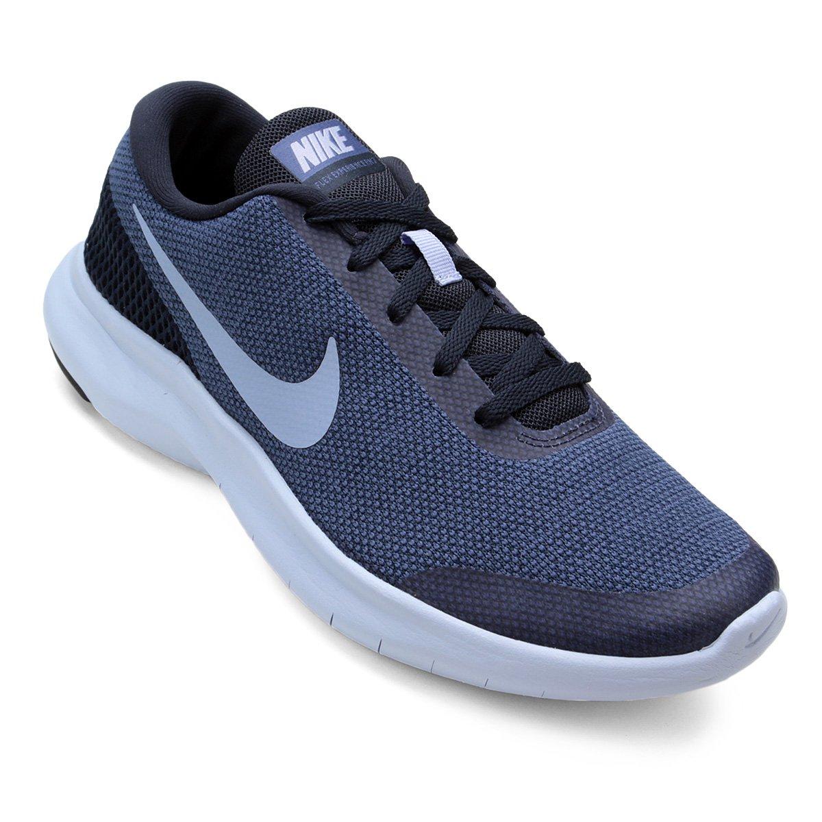 5adbcb32a5f06 Tênis Nike Flex Experience RN 7 Feminino - Azul e Cinza - Compre Agora