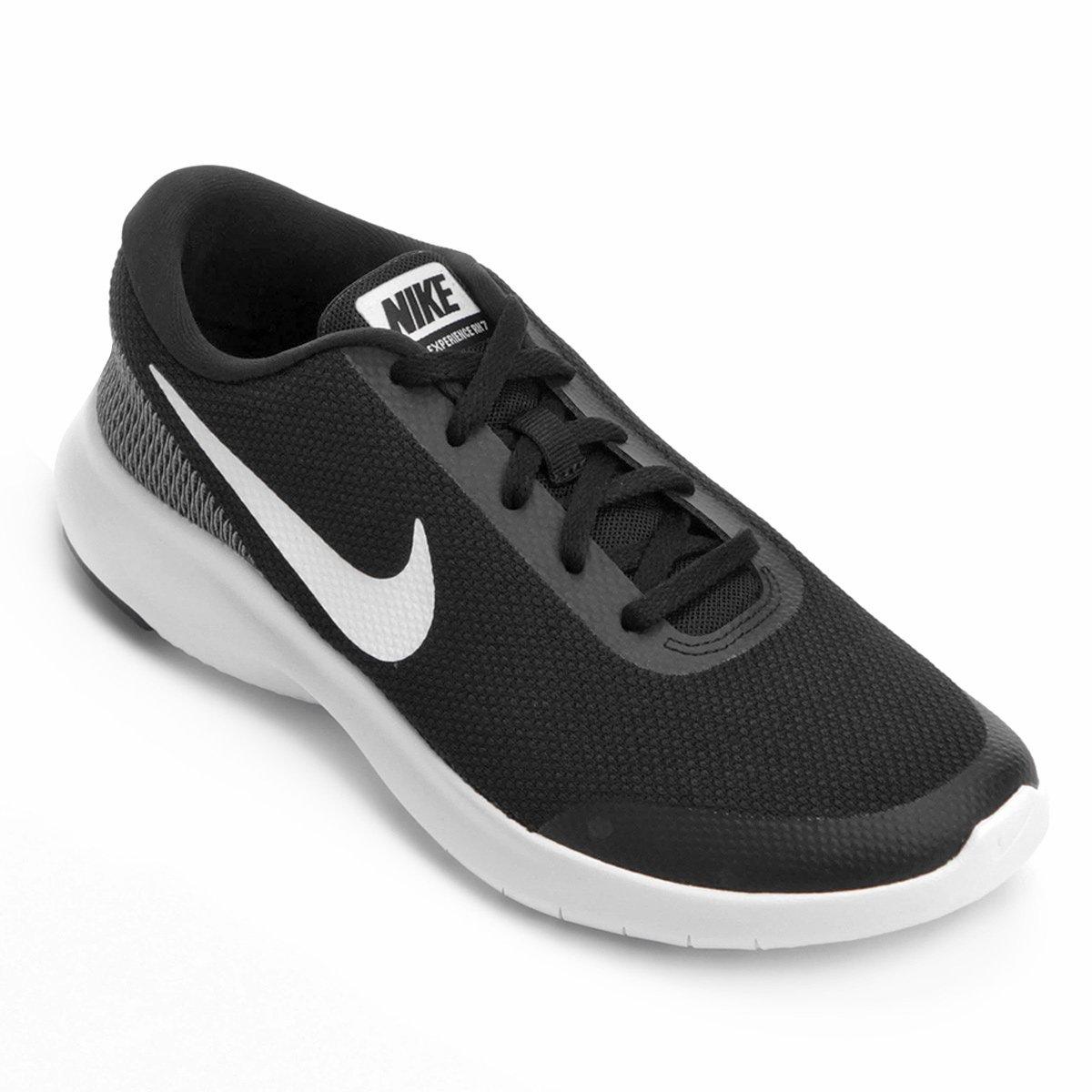 5abef0df4aa Tênis Nike Flex Experience RN 7 Masculino - Preto e Branco - Compre Agora