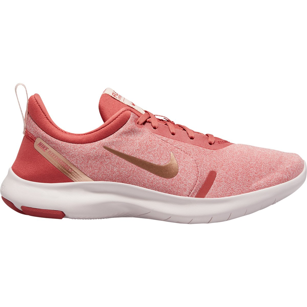 Tênis Nike Flex Experience Rn 8 Feminino Rosa E Cinza