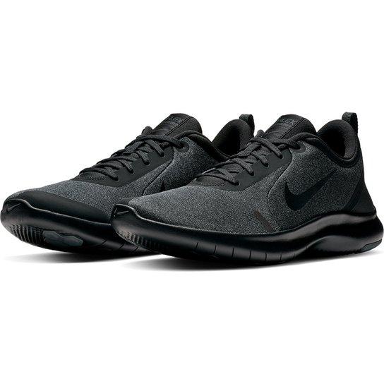 Tênis Nike Flex Experience Rn 8 Masculino - Preto+Cinza