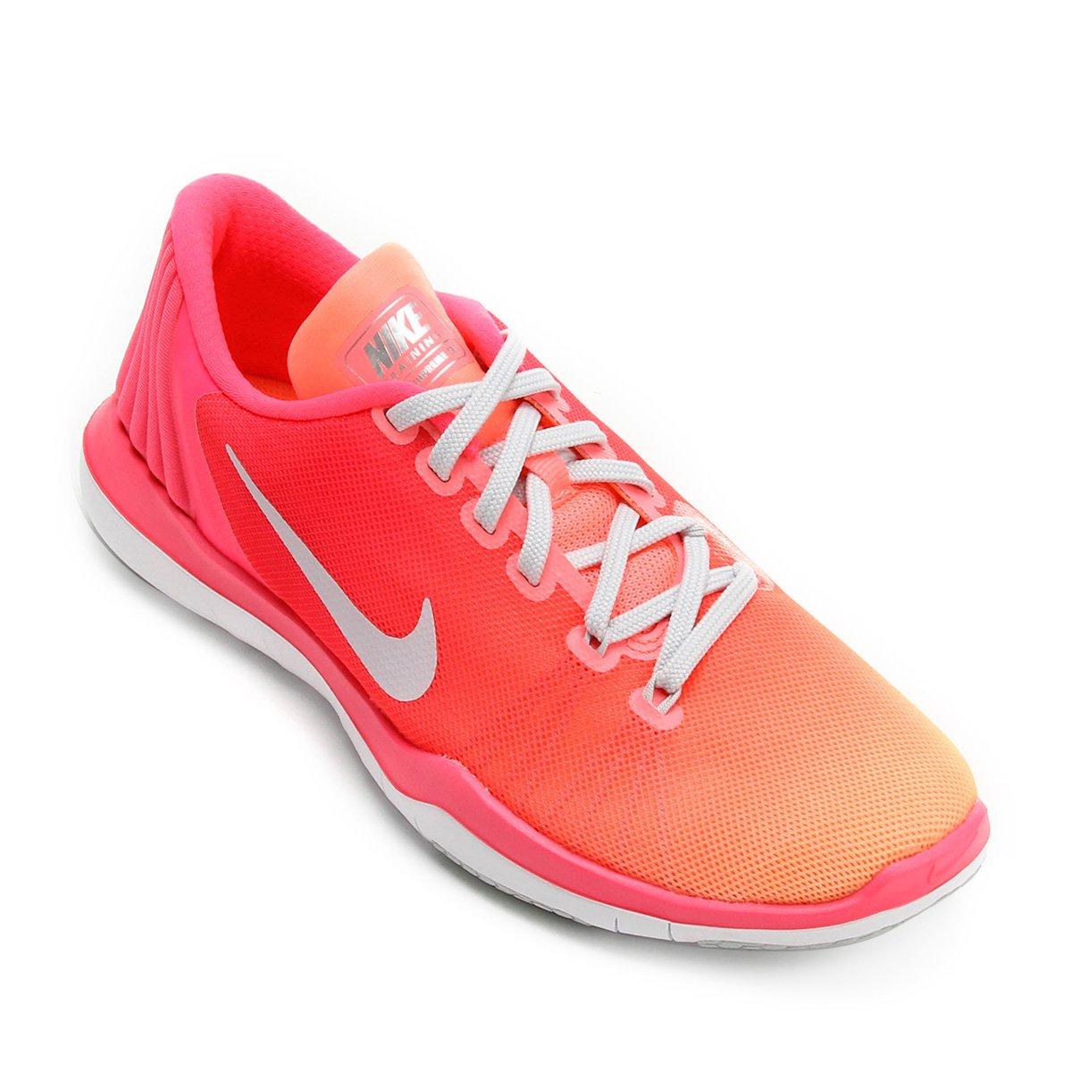 e1e70aada Tênis Nike Flex Supreme Tr 5 Fade Feminino - Compre Agora