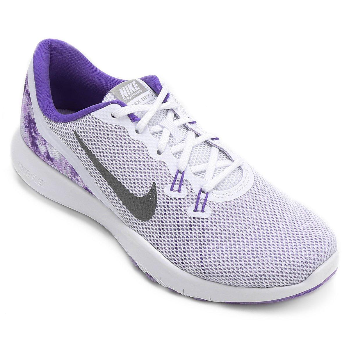 f2d45abd40a Tênis Nike Flex TR 7 Feminino - Compre Agora