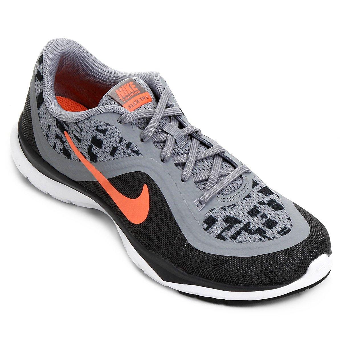1801e4e603d Tênis Nike Flex Trainer 6 Print Feminino - Compre Agora