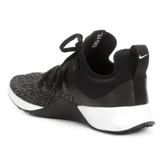 Tênis Nike Foundation Elite Tr Feminino Preto E Branco
