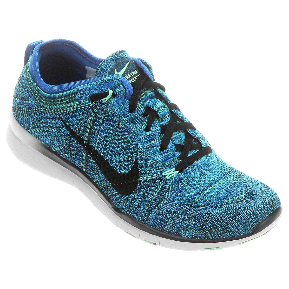 new products 5ca64 d0b04 Tênis Nike Free 5.0 TR Fit 5 Knit - Azul Turquesa