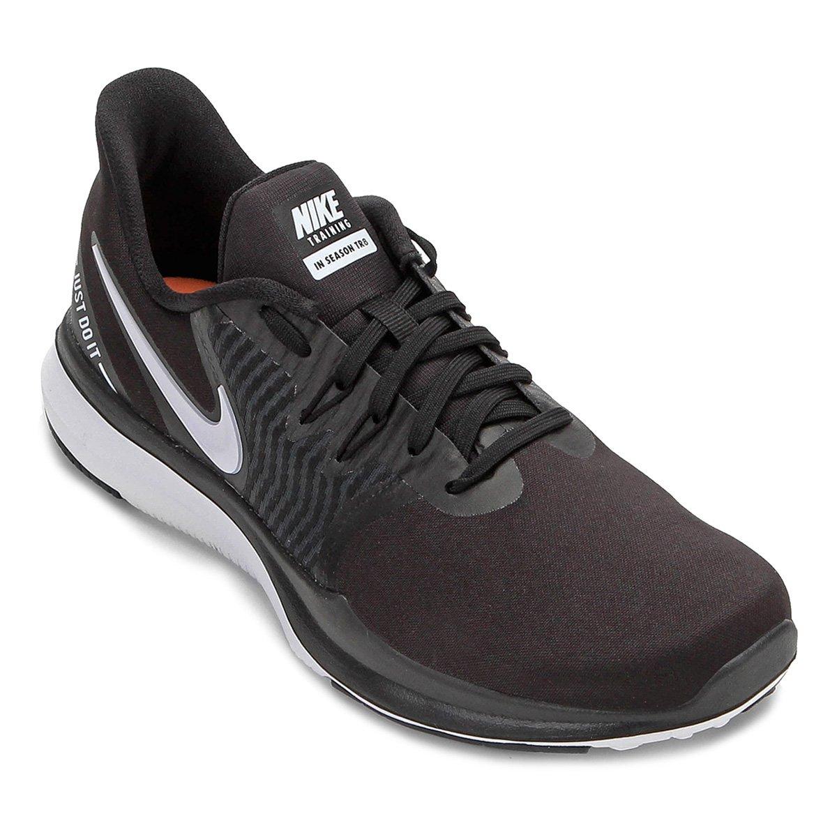 Tênis Nike In-Season Tr 8 Feminino - Preto e Branco - Compre Agora ... 007ee0c6e1039