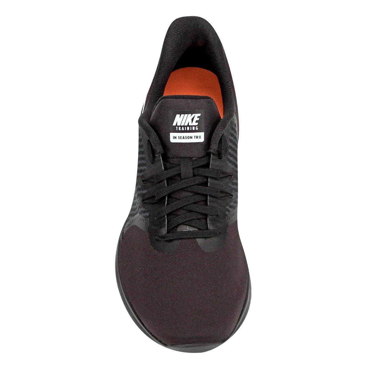 Tênis Nike In-Season Tr 8 Feminino - Preto e Branco - Compre Agora ... 72a4f90905