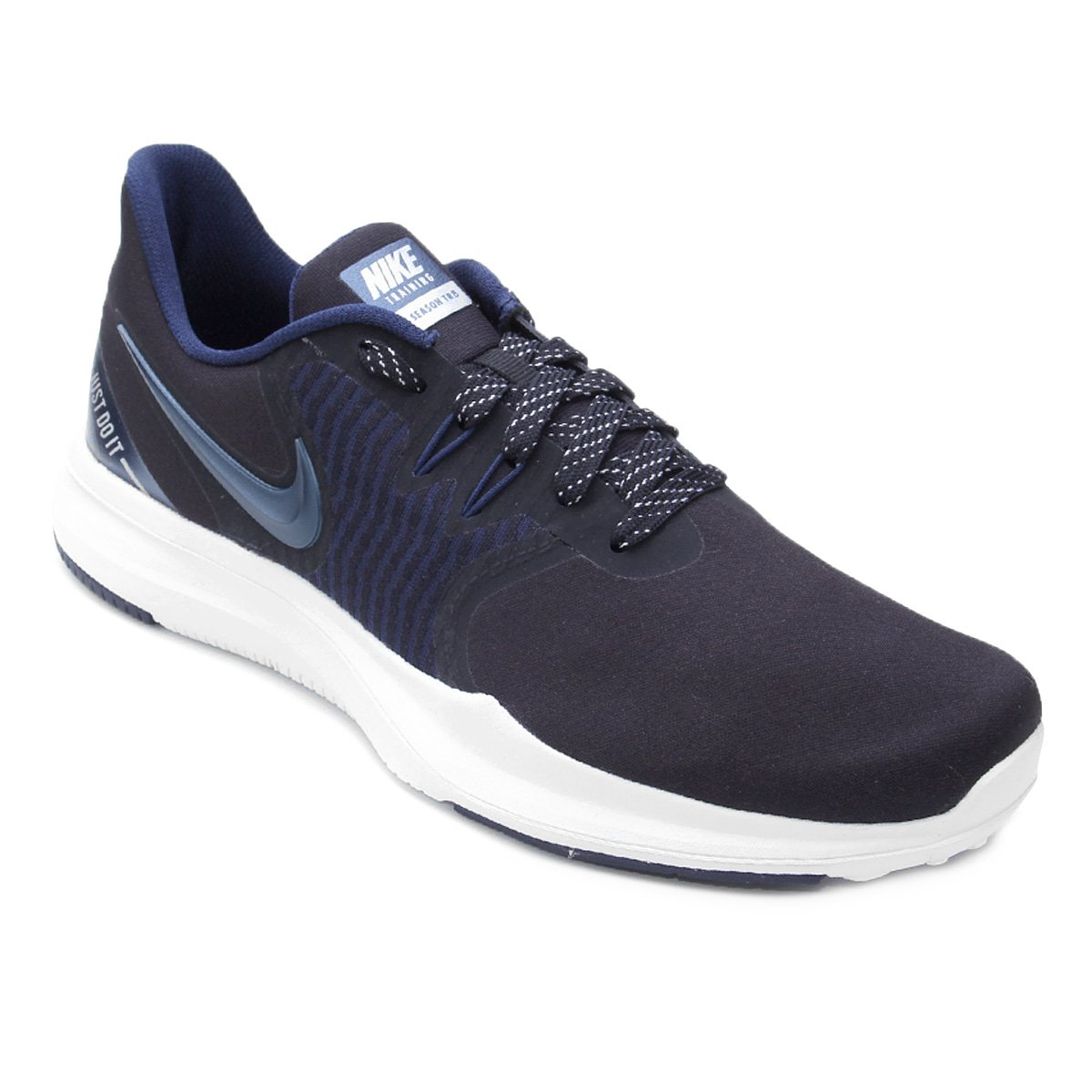 65780c8e7a6 Tênis Nike In-Season Tr 8 Prm Feminino - Preto e Azul - Compre Agora ...