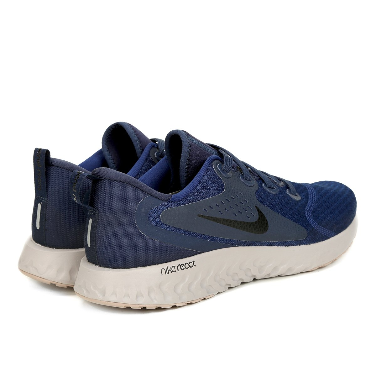Tênis Nike Legend React Masculino - Azul e Preto - Compre Agora ... f60b8e8c9f21a