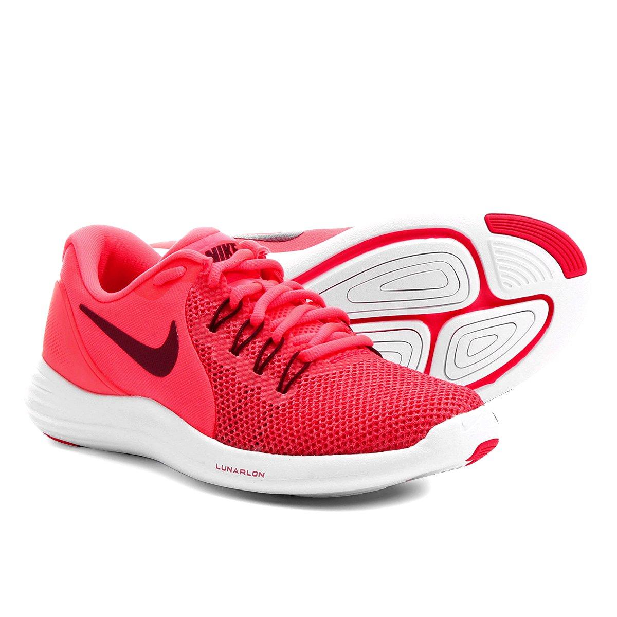 035c9d448b692 Tênis Nike Lunar Apparent Feminino - Pink
