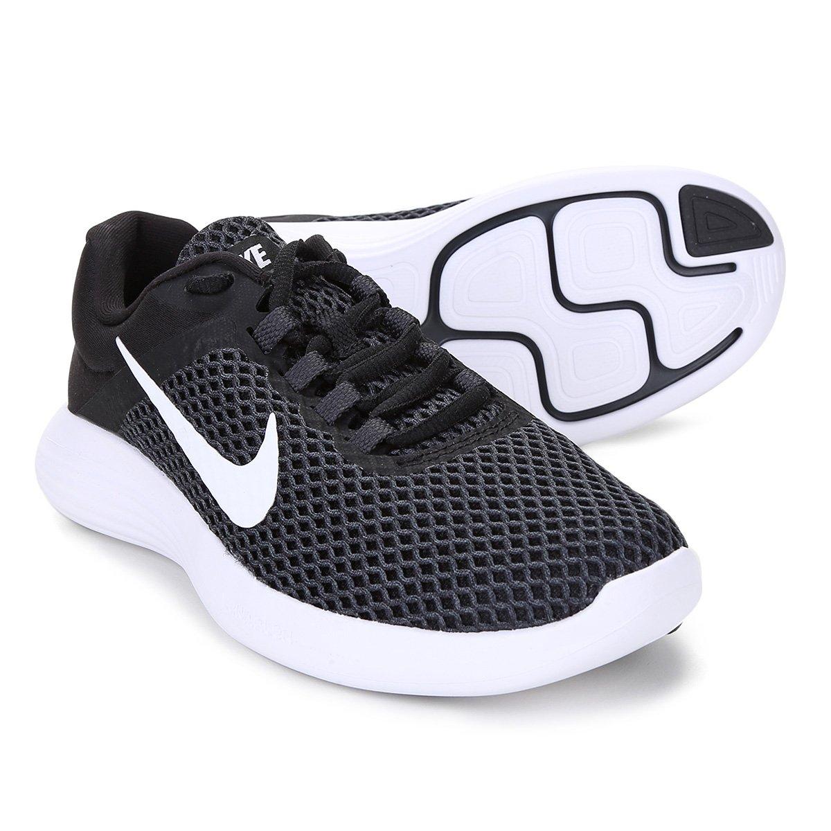 930448339 Tênis Nike Lunarconverge 2 Feminino - Preto e Branco - Compre Agora ...