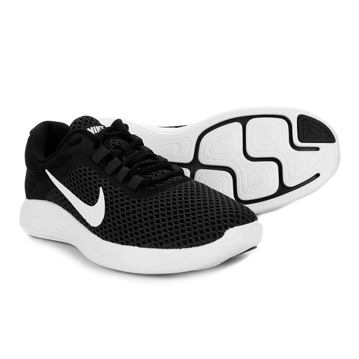 ee8d8858d0b Tênis Nike Lunarconverge 2 Masculino - Preto e Branco - Compre Agora ...