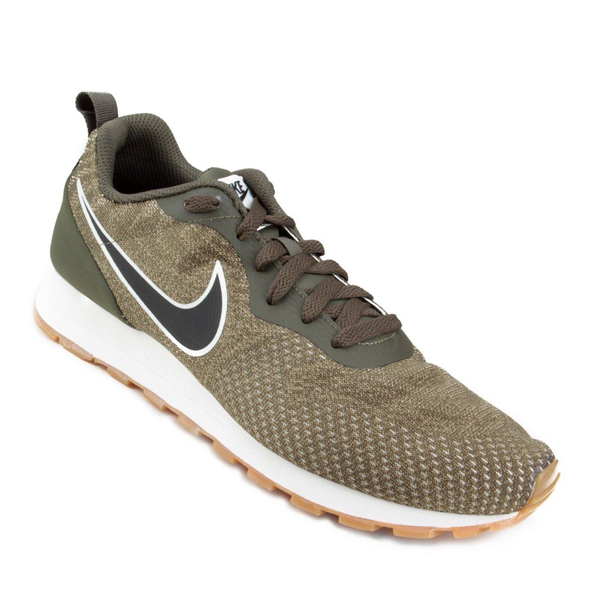 d90685c62b Tênis Nike Md Runner 2 Eng Mesh Masculino - Musgo - Compre Agora ...