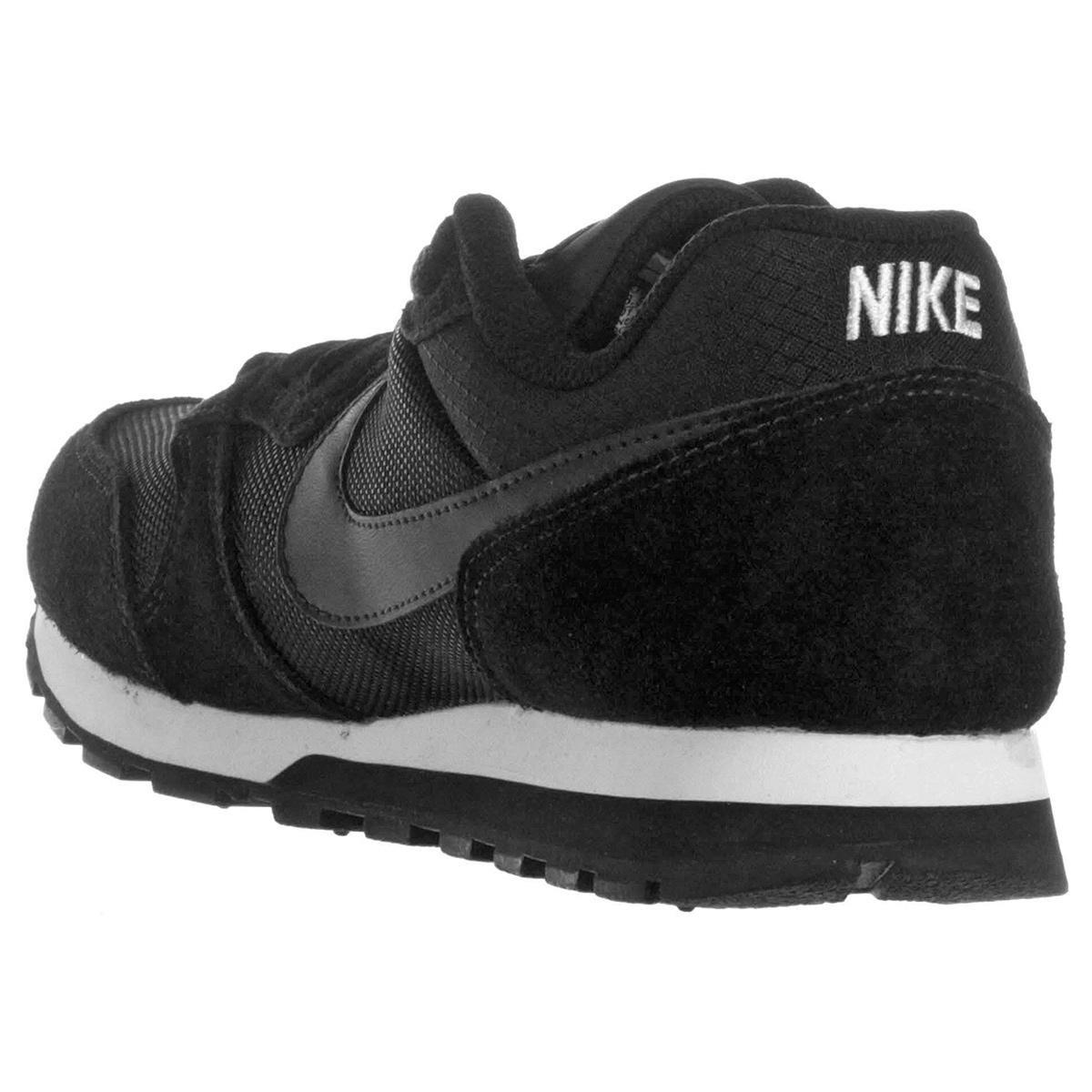 Tênis Nike Md Runner 2 Feminino Preto E Branco