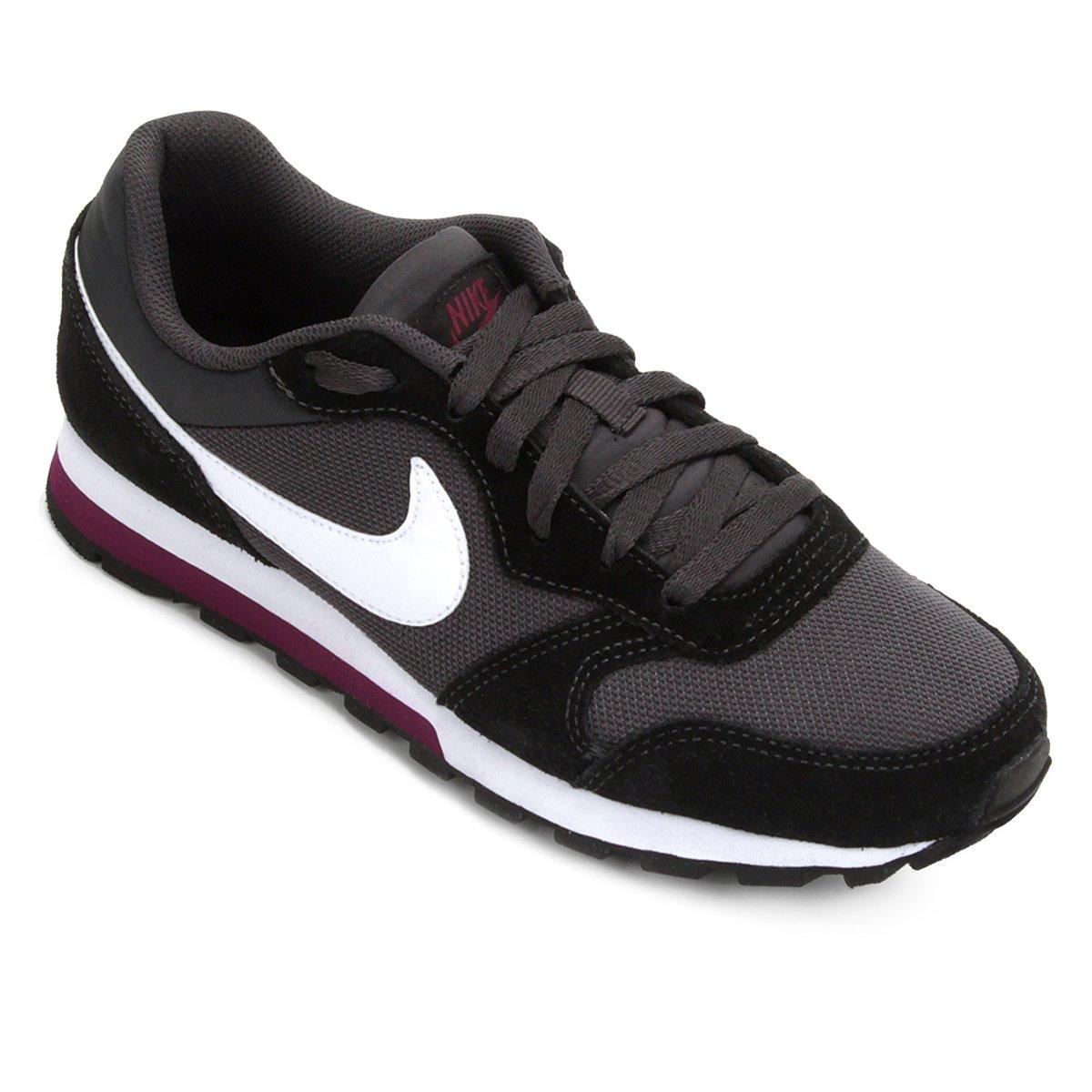 b19412c21f13c Tênis Nike Md Runner 2 Feminino - Branco e Grafite | Shop Timão