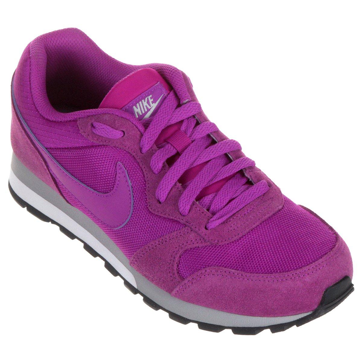 6a74a53d94398 Tênis Nike Md Runner 2 Feminino - Roxo - Compre Agora