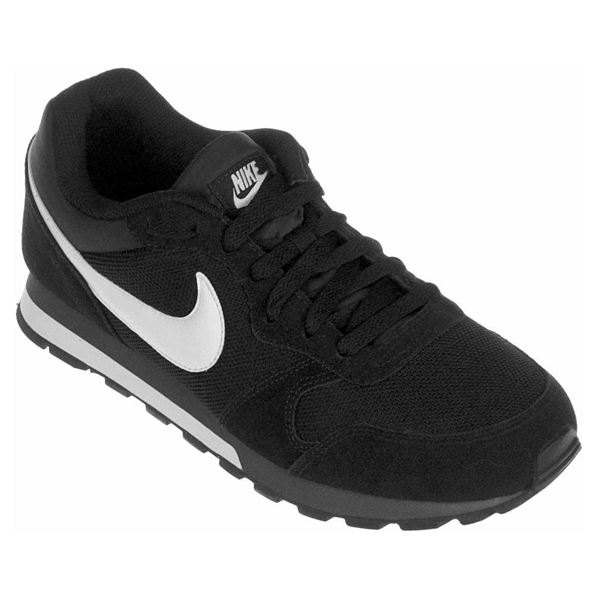 f03b92ef359 Tênis Nike Md Runner 2 Masculino - Preto e Branco - Compre Agora ...