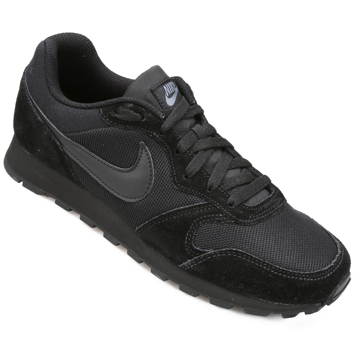 968629e50ef Tênis Nike Md Runner 2 Masculino - Preto e Chumbo - Compre Agora ...