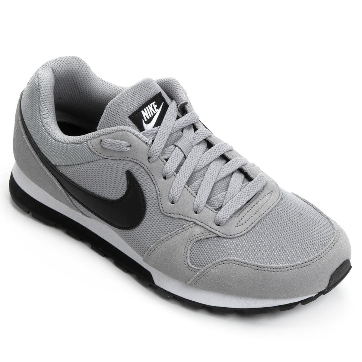 71cb452067a Tênis Nike Md Runner 2 Masculino - Cinza e Preto - Compre Agora ...