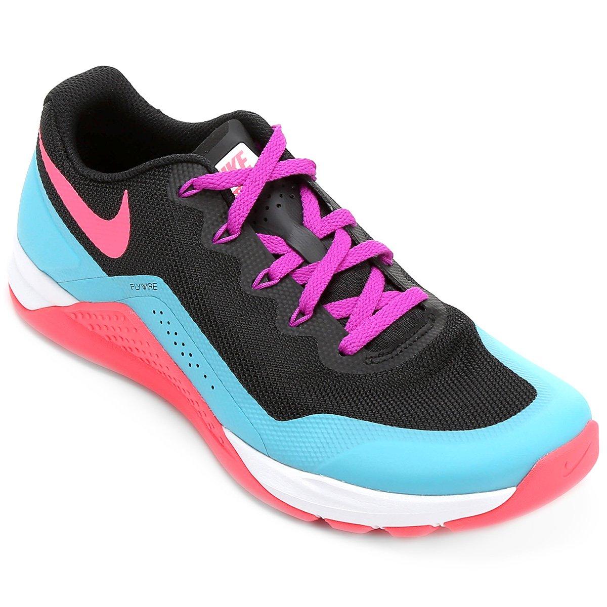 Tênis Nike Metcon Repper DSX Feminino - Preto e Rosa - Compre Agora ... 20f163c35b122