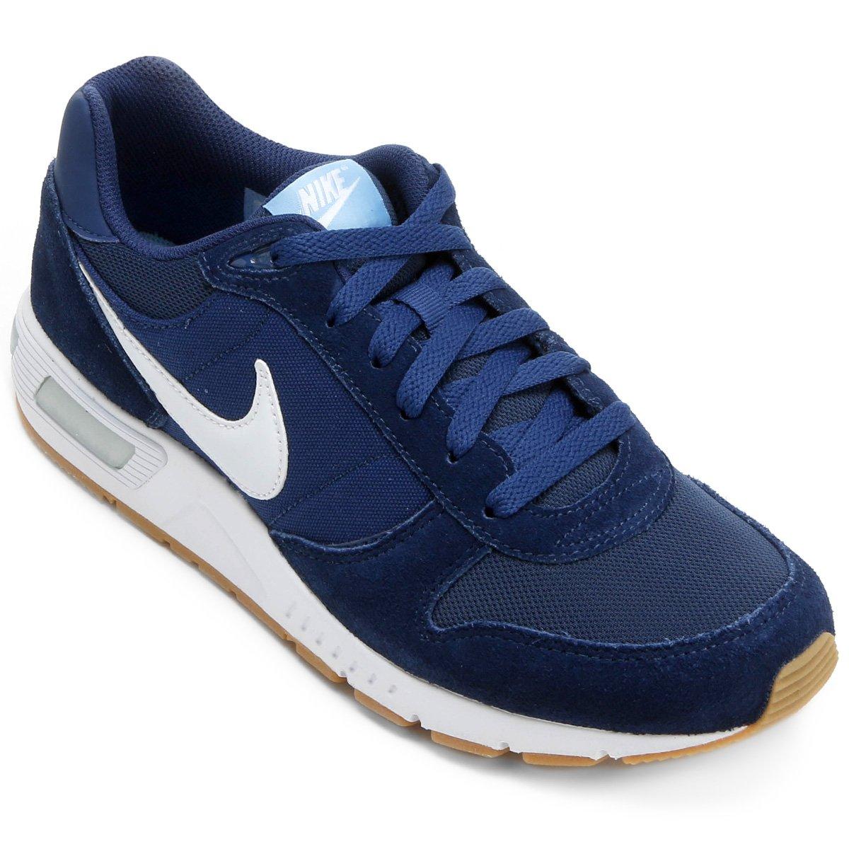1bb34d4c2d4 Tênis Nike Nightgazer Masculino - Azul e Branco - Compre Agora ...