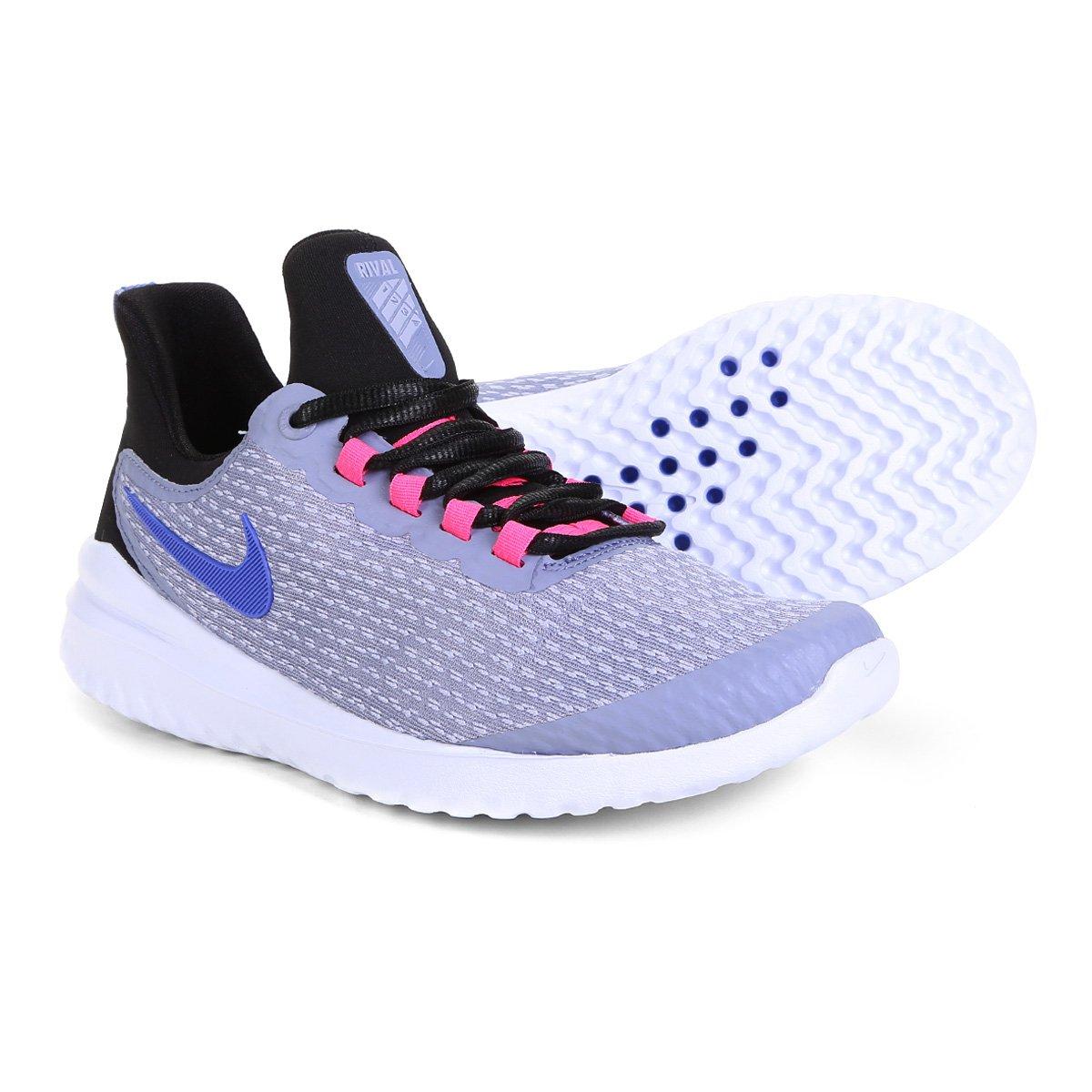 Tênis Nike Renew Rival Feminino Lilás