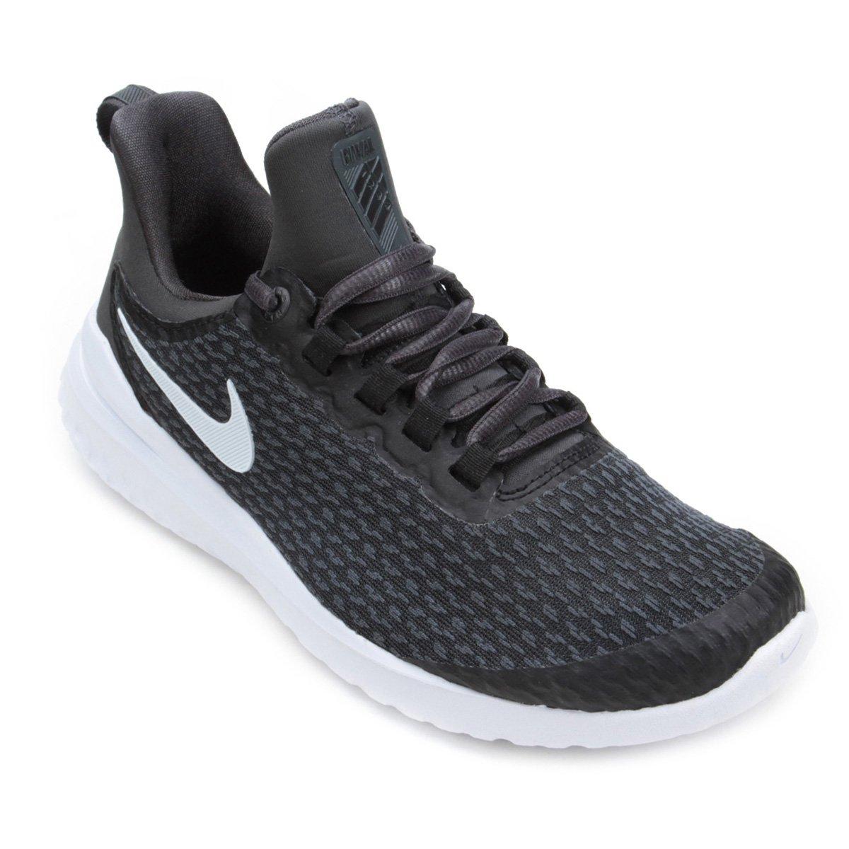 Tênis Nike Renew Rival Feminino - Preto e Branco - Compre Agora ... 94dd0fa7cbe57