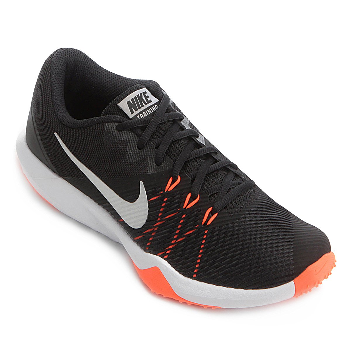 1592ce3f9ba Tênis Nike Retaliation TR Masculino - Preto e Laranja - Compre Agora ...