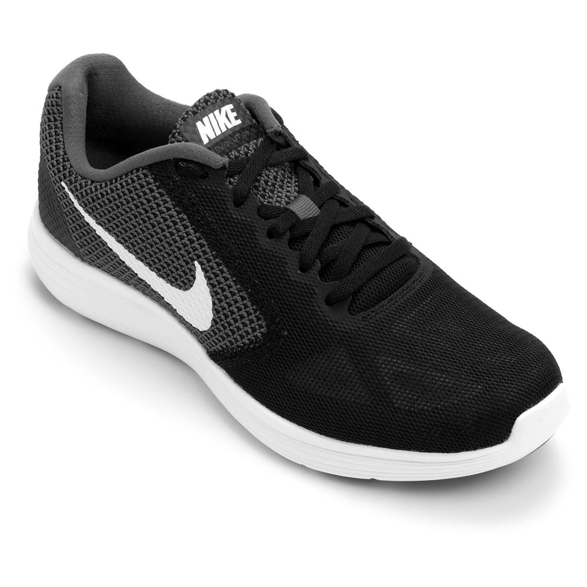 5b6df5d8fd Tênis Nike Revolution 3 Masculino - Preto e Cinza - Compre Agora ...
