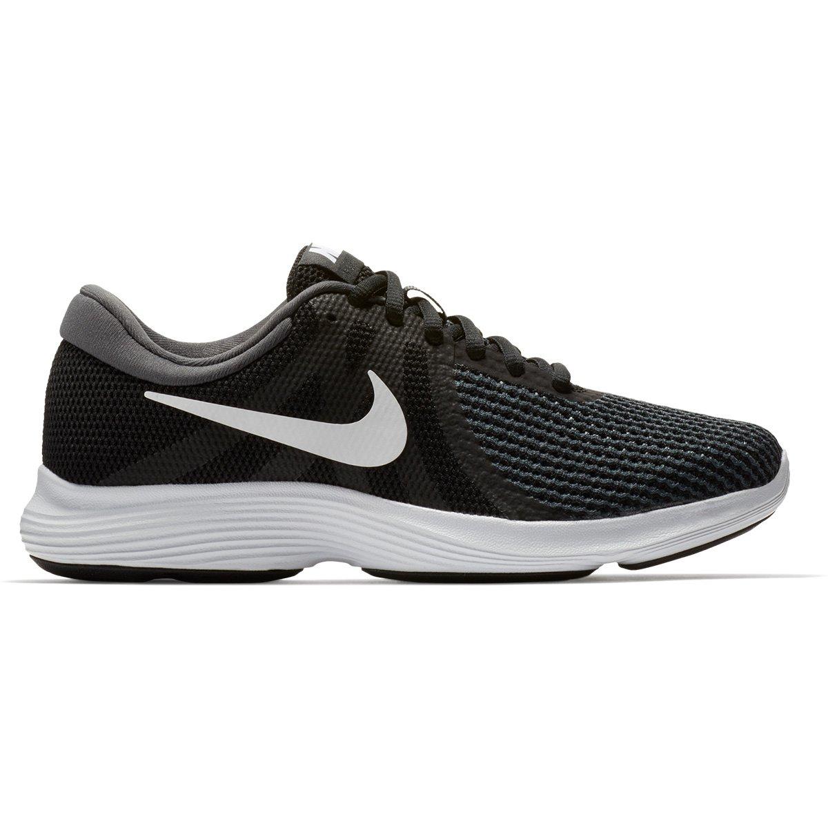 2ed694e16 Tênis Nike Revolution 4 Feminino - Preto e Branco | Shop Timão