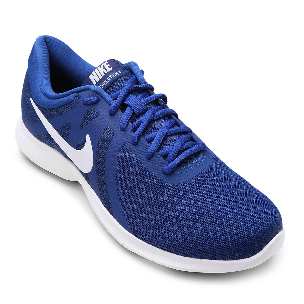 76096c91598 Tênis Nike Revolution 4 Masculino - Azul - Compre Agora