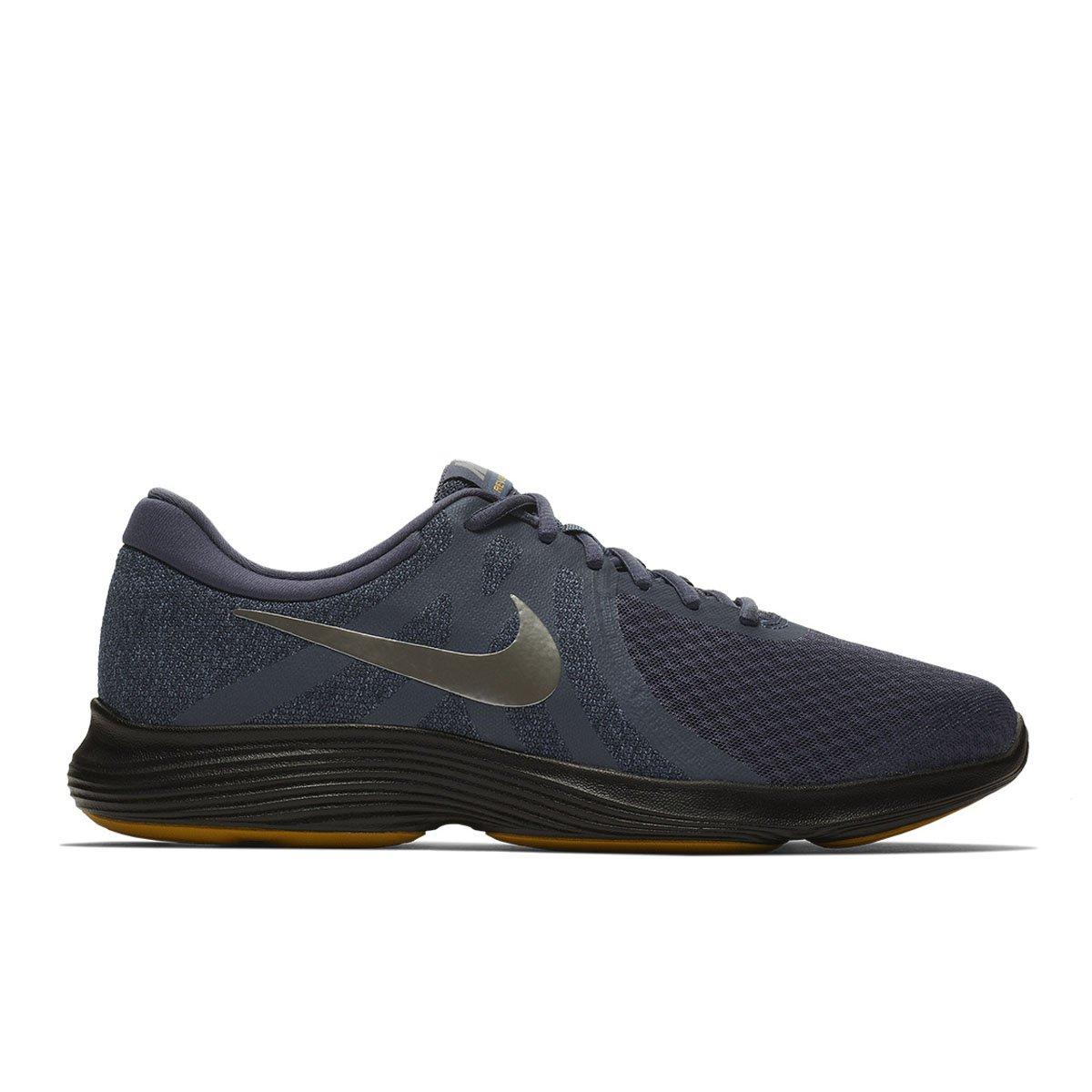 Tênis Nike Revolution 4 Masculino - Preto e Cinza - Compre Agora ... a393ffbdb4aea