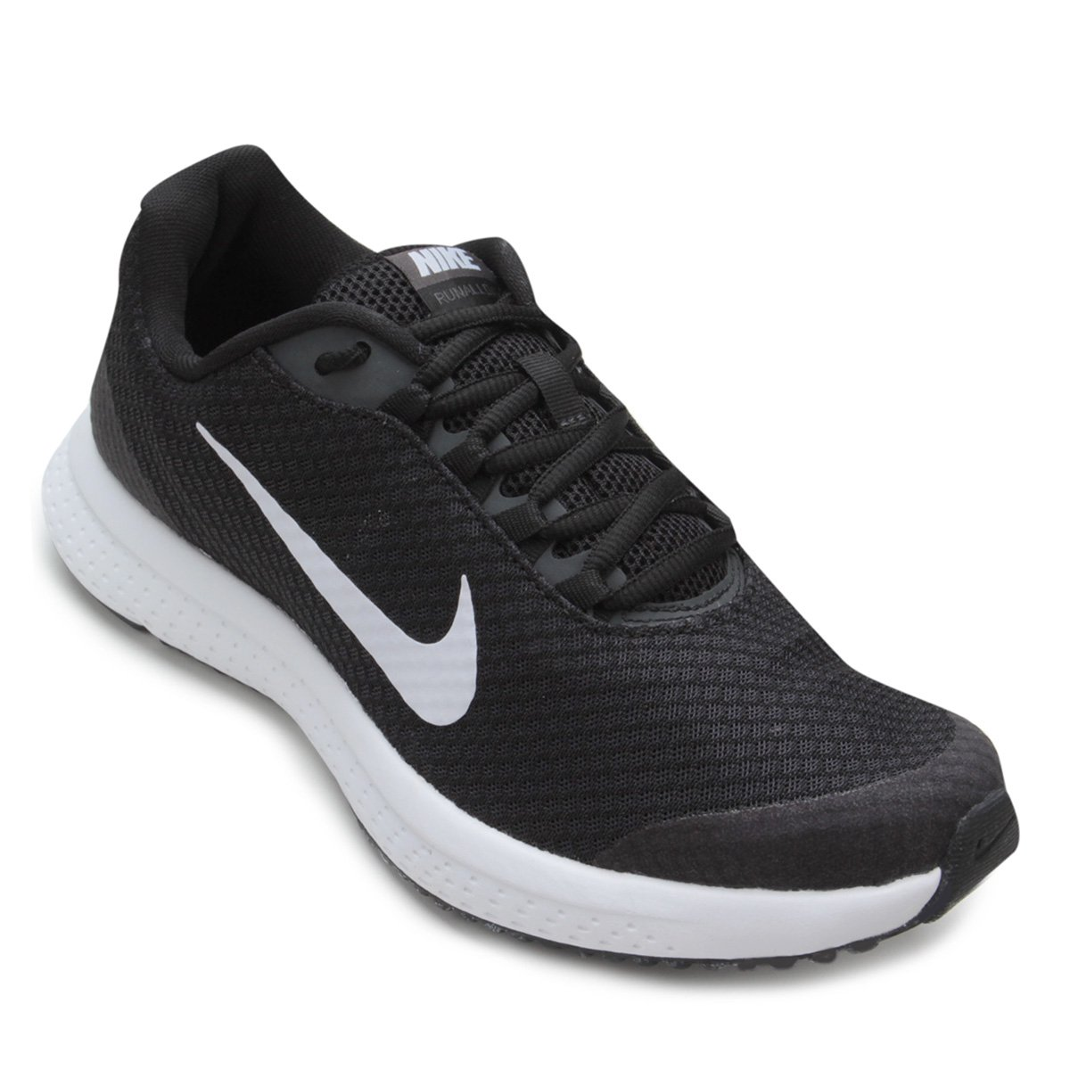 99143c8d5c7 Tênis Nike Runallday Feminino - Preto e Cinza - Compre Agora