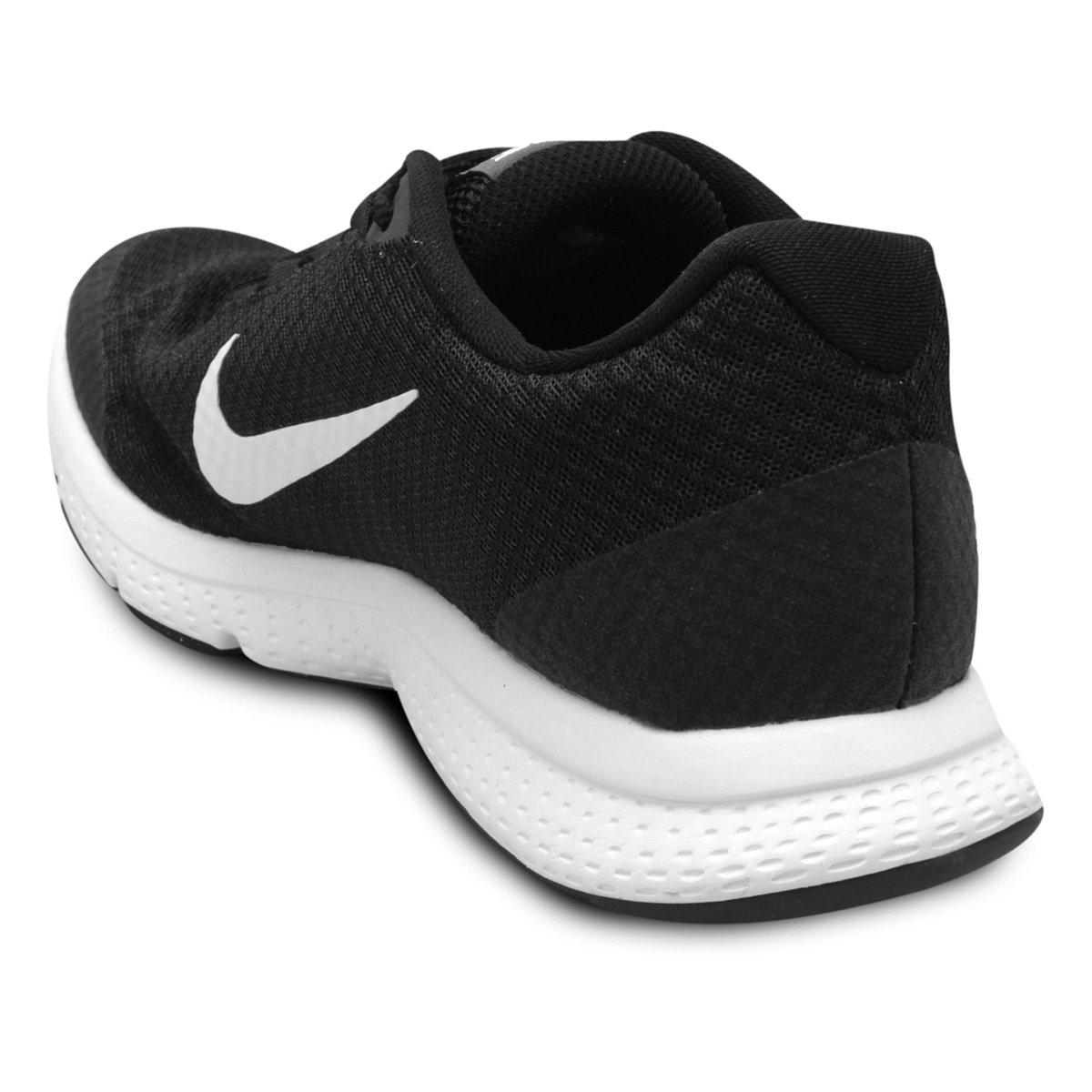Tênis Nike Runallday Feminino Preto E Cinza Shop Timão