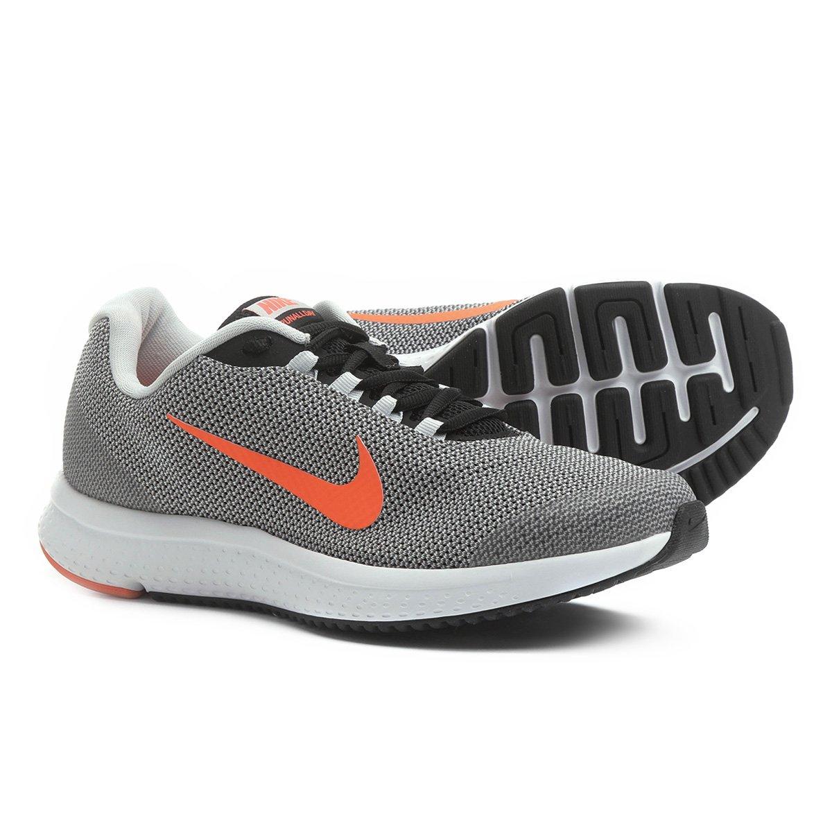 5be9b94f0420b Tênis Nike Runallday Masculino - Prata e Vermelho - Compre Agora ...
