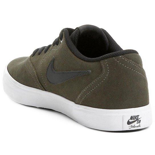 medianoche milicia hoy  Tênis Nike SB Check Solar Masculino - Verde Militar e Preto   Shop Timão