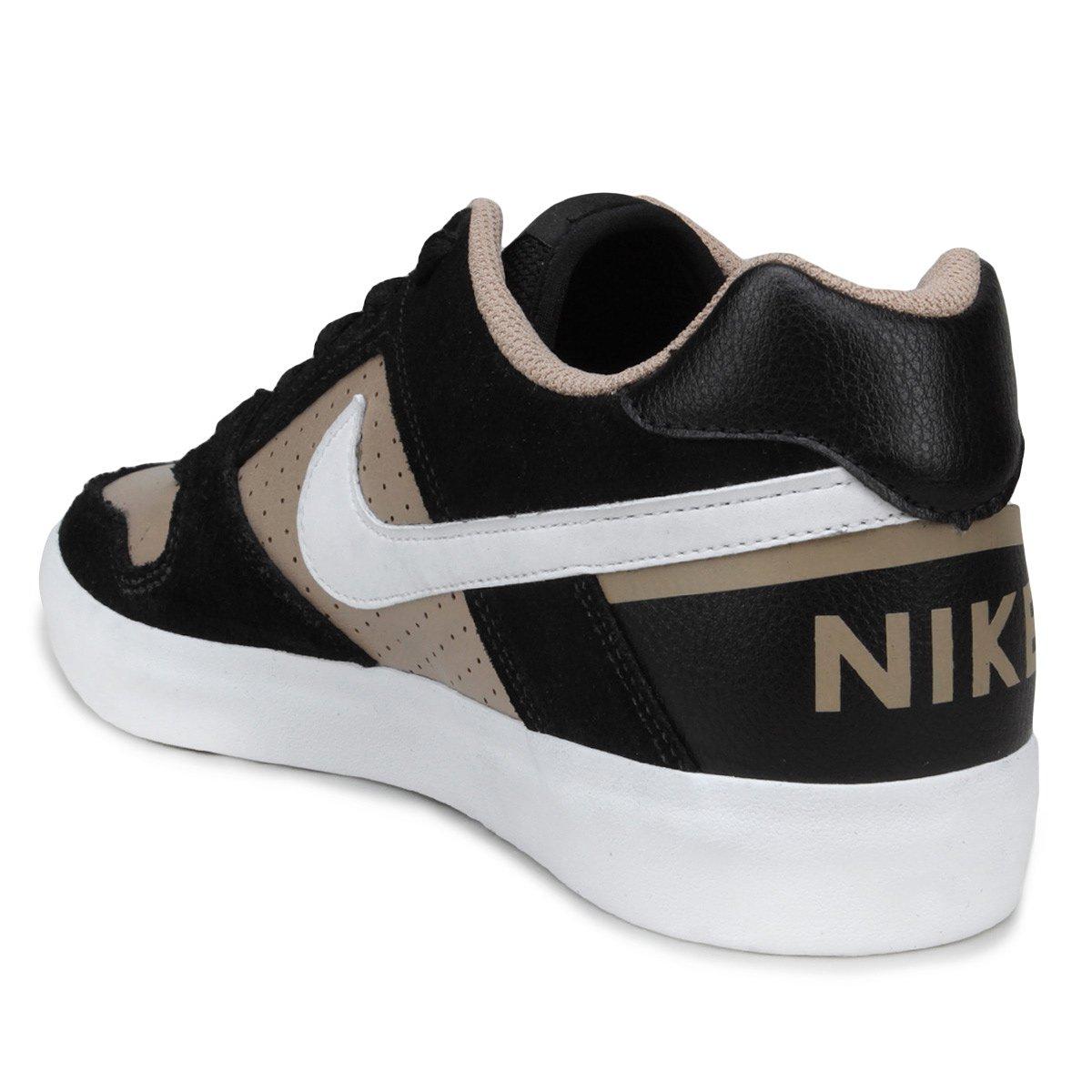 ... Tênis Nike SB Delta Force Vulc Masculino - Bege e Preto - Compre . 5b3f08484a7