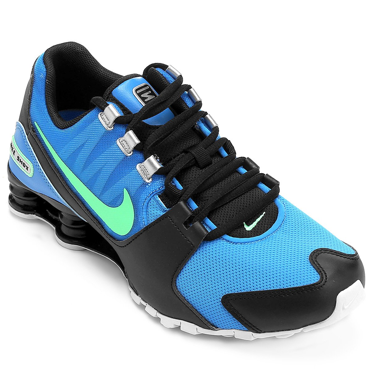 purchase cheap 96be6 36367 ... sale tênis nike shox avenue masculino azulpreto f7e69 25b80 ...