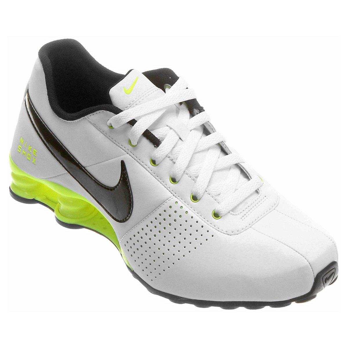 buy online d77bb aced9 Tênis Nike Shox Deliver - Branco+Verde . ...