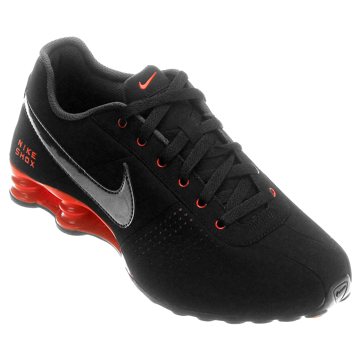 purchase cheap 2b06c a4d52 Tênis Nike Shox Deliver - Preto+Laranja Escuro ...
