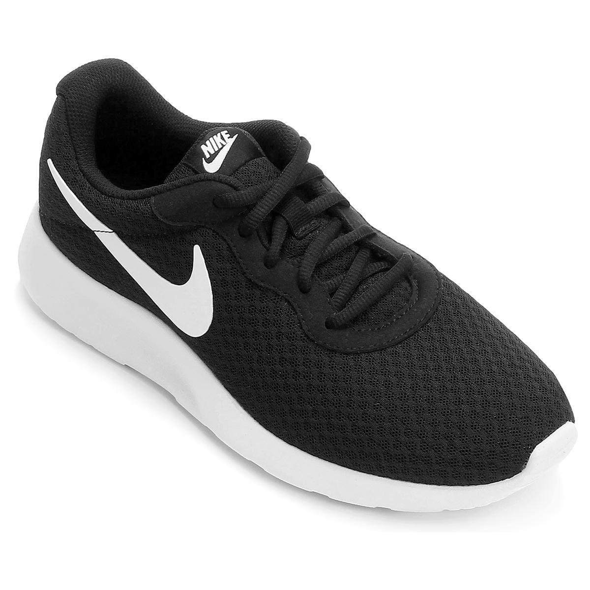 a354e942d81 Tênis Nike Tanjun Masculino - Preto e Branco - Compre Agora