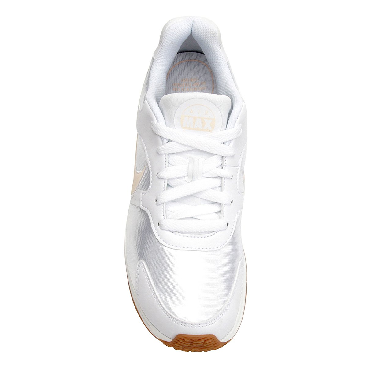 27b0f66b11 Tênis Nike Wmns Air Max Guile Feminino - Branco e Marrom - Compre ...