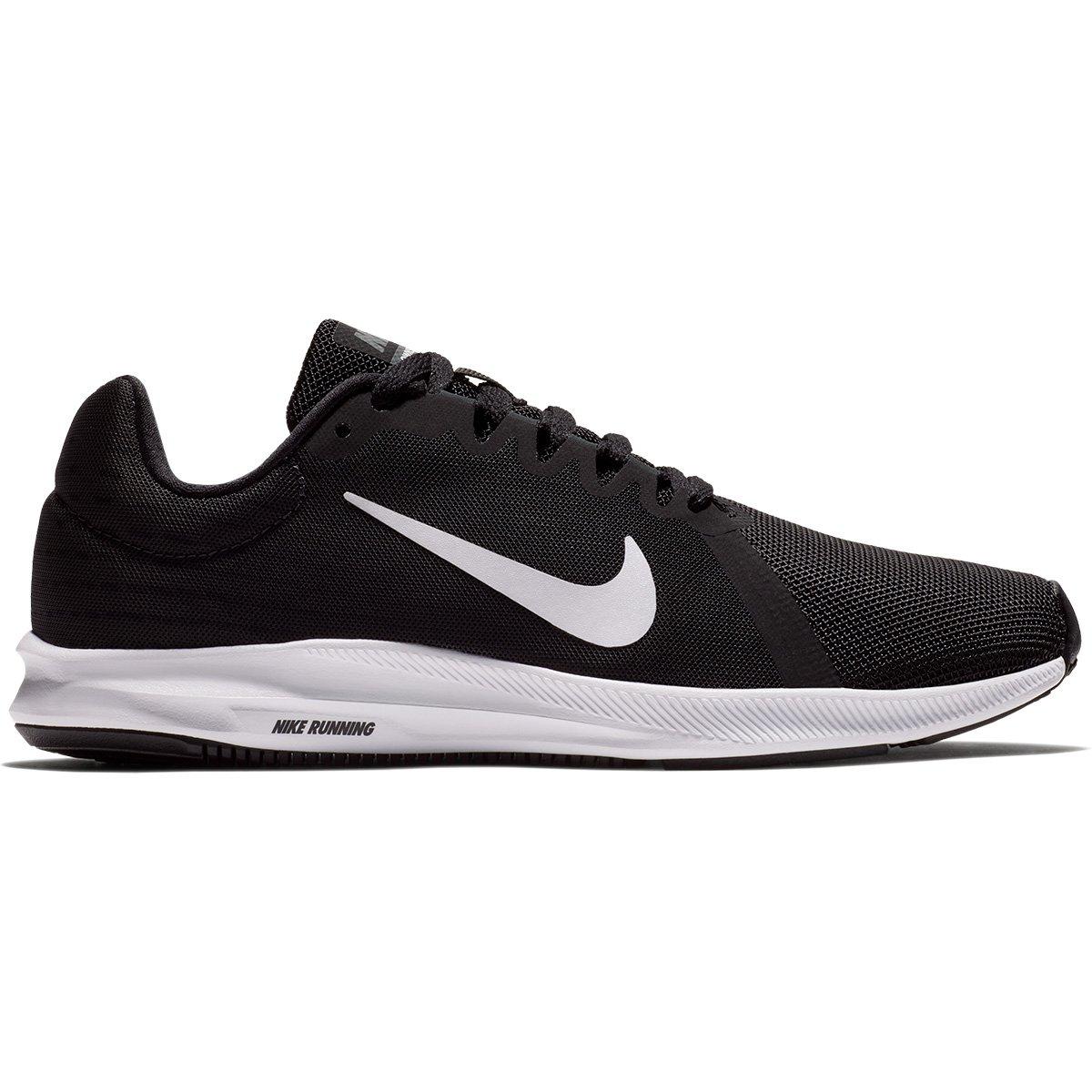 Tênis Nike Wmns Downshifter 8 Feminino - Preto e Branco - Compre ... edd567f7b8274