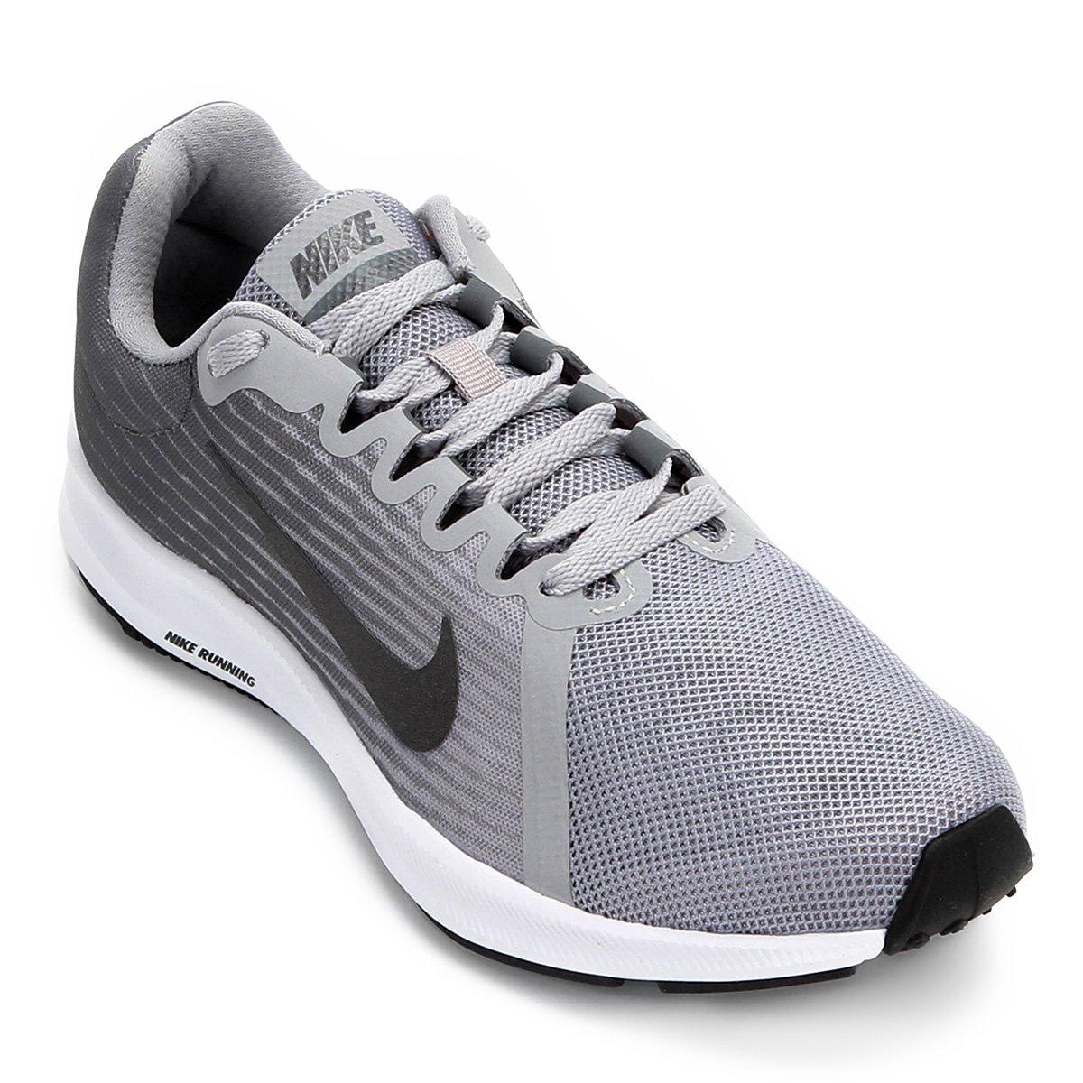 Tênis Nike Wmns Downshifter 8 Feminino - Cinza e Preto - Compre Agora  313a382f50